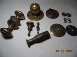 Изделия с бронзы 770 грм. Ручки и прочее. описание., фото №2