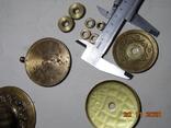 Изделия с бронзы 770 грм. Ручки и прочее. описание., фото №13