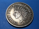 1 доллар сша 1851 г. Копия, фото №2