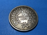 1 доллар сша 1851 г. Копия, фото №3