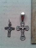 Два крестика серебро, 6,4 грамма, фото №3
