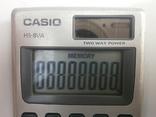 Калькулятор casio, фото №6