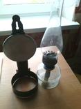 Лампа керосиновая со стеклом, настенная ( № 2 ), фото №2