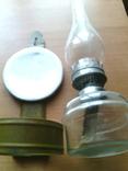 Лампа керосиновая со стеклом, настенная ( № 2 ), фото №5