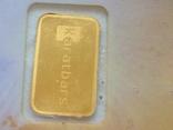 Слиток золота 999.9 0,1 гр. Лот №102 фото 2