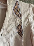 Жакет вышивка лен, фото №3