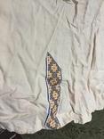 Жакет вышивка лен, фото №4