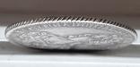 Полтина 1726 копия серебро, фото №4