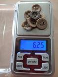 Пуговицы-ретузницы (лот 1), 7 шт., фото №4