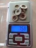 Пуговицы-ретузницы (лот 2), 7 шт., фото №4