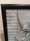 """Картина """"П'єро"""", олія, картон,, фото №7"""