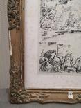 """Картина """"Замкова гора"""", дереворит, рідна рама, фото №6"""