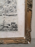 """Картина """"Замкова гора"""", дереворит, рідна рама, фото №7"""