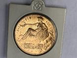100 корон 1908 Франц Иосиф  60 лет правления, фото №2