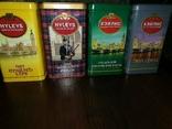 Жестяные банки от кофе, чая, конфет 20 штук, 1990-2000х. г., фото №7