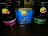 Жестяные банки от кофе, чая, конфет 20 штук, 1990-2000х. г., фото №9