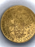 4 дуката 1848 Австро-Венгрия Фердинанд, фото №2