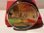 """Новое карманное зеркальце в родной коробке """"Мальта"""", фото №2"""
