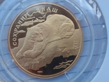 """100 рублей 1997 года, буквы ЛМД, proof """"полярный медведь"""", фото №3"""