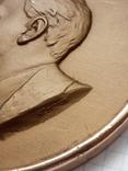 Медаль (8) настольная Ленин (Соколов) ЛМД 117694, фото №5