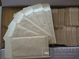 Бандерольный конверт В12 120х210, 100 шт., желтые фото 2
