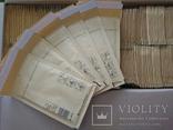 Бандерольный конверт В12 120х210, 100 шт., желтые фото 3