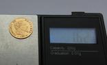 5 франков 1864 Наполеон III. Франция. Золото 1,62г, фото №4