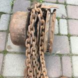 Лебедка, крюк с роликом, 2 серьги, фото №6