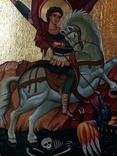 Икона Георгий Победоносец, фото №3