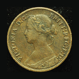 Великобритания фартинг 1875, фото №2