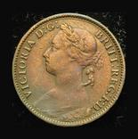 Великобритания фартинг 1885, фото №3
