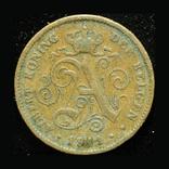 Бельгия 2 сентим 1911, фото №2