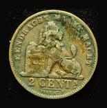 Бельгия 2 сентим 1911, фото №3