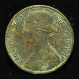 Великобритания пенни 1863, фото №2
