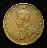 Австралия 1 пенни 1919, фото №2