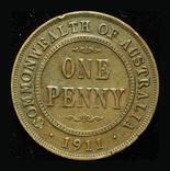 Австралия 1 пенни 1911, фото №2