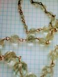 Ожерелье  Горный Хрусталь граненый, фото №3