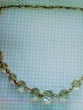 Ожерелье  Горный Хрусталь граненый, фото №4