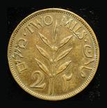 Палестина 2 милс 1945 редкий год, фото №3