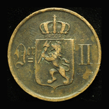 Норвегия 5 эре 1899, фото №3