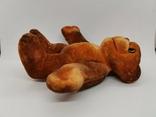 Обезьяна мартышка обезьянка поролоновая флоковая игрушка СССР поролон флок редкая 19 см., фото №3