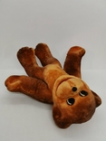 Обезьяна мартышка обезьянка поролоновая флоковая игрушка СССР поролон флок редкая 19 см., фото №8