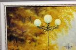 Осенний пейзаж.(холст-масло) рама-пластик-№2. копия, фото №3