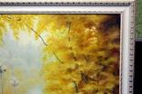 Осенний пейзаж.(холст-масло) рама-пластик-№2. копия, фото №4
