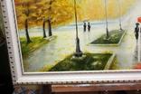 Осенний пейзаж.(холст-масло) рама-пластик-№2. копия, фото №5