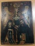 Икона Богородицы Печерская 34х25 см, фото №2