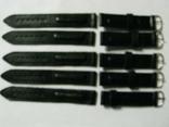 Ремешок для часов 18 мм.кожа,новый 5 шт., фото №4