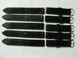 Ремешок для часов 18 мм.кожа,новый 5 шт., фото №5