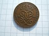 Швеция 2 эре 1928 г.  KM#778, фото №4