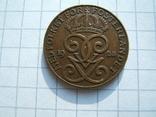 Швеция 2 эре 1928 г.  KM#778, фото №5